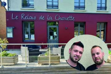 elvis et vincent Relais de la Chouette
